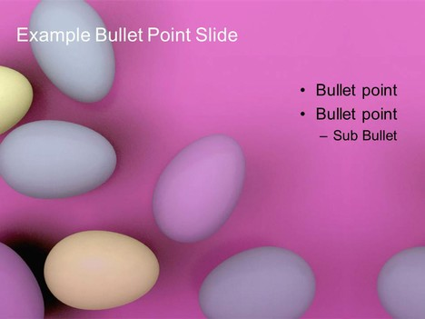 Free Pastel Easter Egg Template