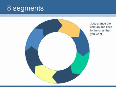 PowerPoint Circle Slide Template - smartart powerpoint template
