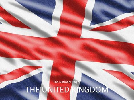 United Kingdom Flag Template