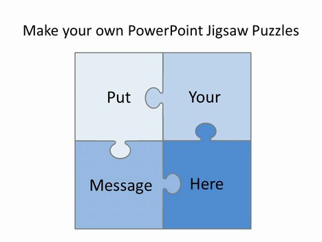 Free Editable Jigsaw Pieces Powerpoint Template - puzzle powerpoint template