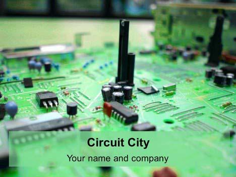 Printed Circuit Board Template Presentation Magazine
