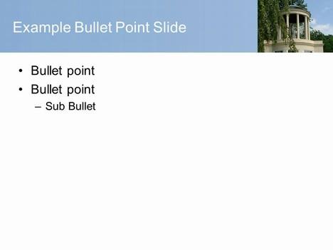 Greek Temple PowerPoint Template