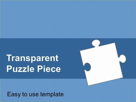 Transparent Puzzle Piece Template - puzzle pieces template