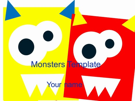 Monsters Template - Monster Template