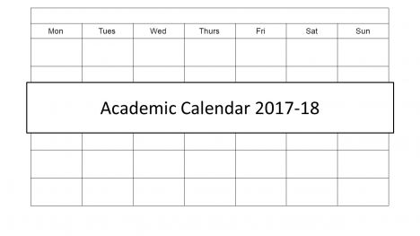 Academic Calendar 2017 PowerPoint Template - powerpoint calendar template