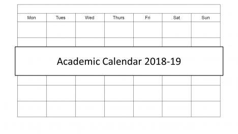Academic Calendar 2018 PowerPoint Template