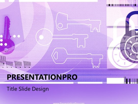 Online21 Purple PowerPoint template background in Technology