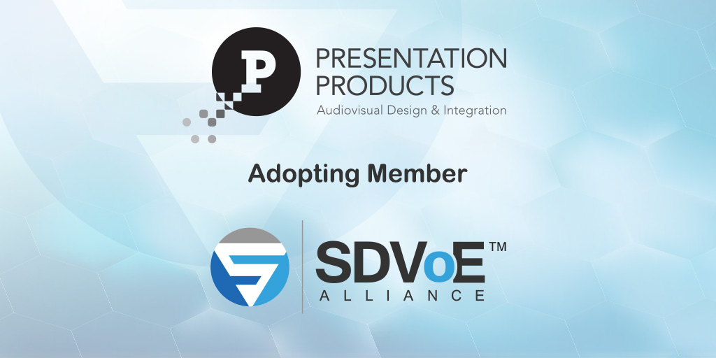 SDVoE-Alliance- Adopter-Promotions-Presentation-Products