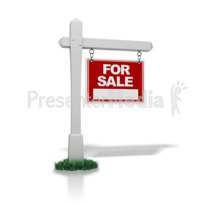 Real Estate Sign For Sale - Signs and Symbols - Great Clipart for - house for sale sign template
