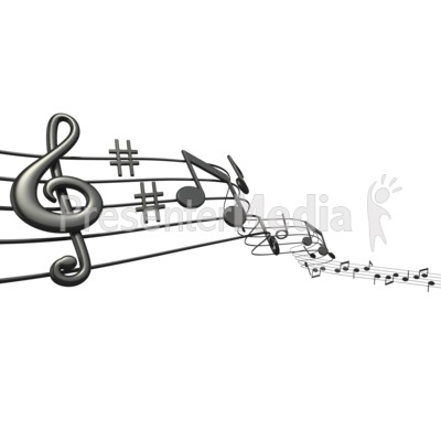 Music Notes Sheet - Signs and Symbols - Great Clipart for