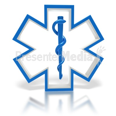 Star of Life Medical Symbol - Signs and Symbols - Great Clipart for