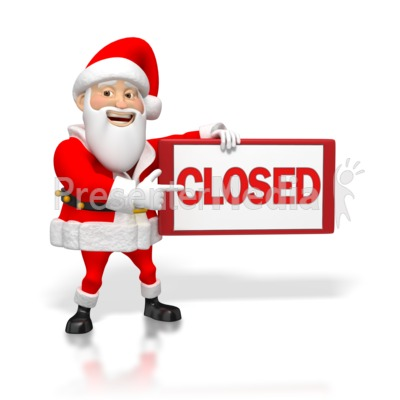 Closed For The Holidays Clipart - World Wide Clip Art Website \u2022