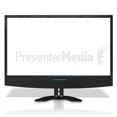 Flat Screen TV With See Through Screen - Education and School