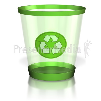 Recycle Trash Can - Wildlife and Nature - Great Clipart for - recycling powerpoint templates
