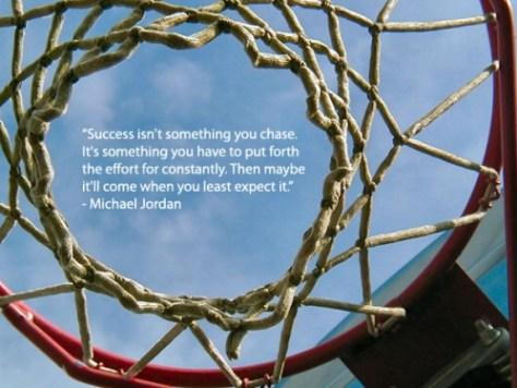 Motivational quote from Michael Jordan