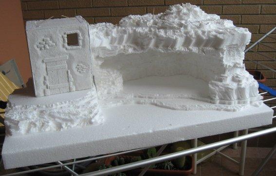 Pe Foam 3d Wallpaper Presepe In Polistirolo Come Costruirlo Presepeforum It