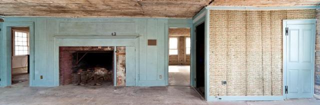 Blue Parlor Fireplace, photo by John Butler