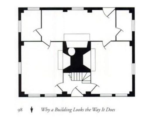 Floor Plan, two-room deep house, by James Garvin