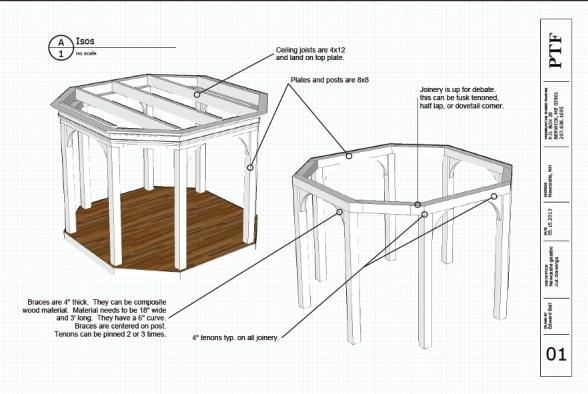 Frame design, shop drawings