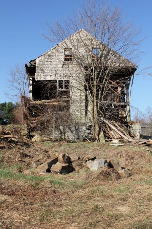 Butcher Barn, before.