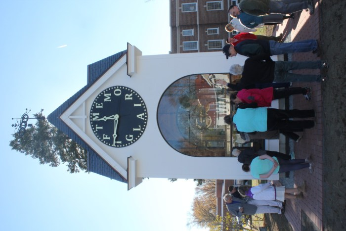Clock in Clock Tower