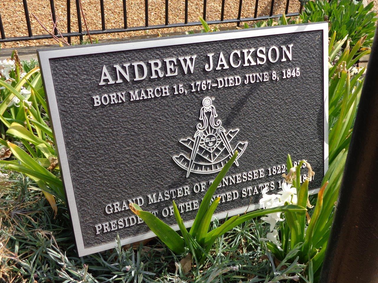 Andrew Jackson Gravesite Nashville Tennessee