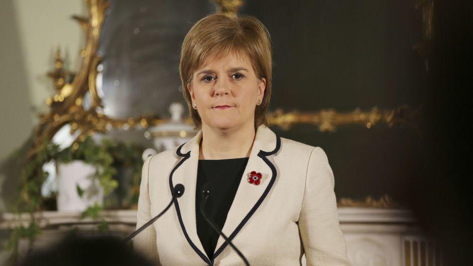 Scottish leader slams Trump's 'abhorrent' views