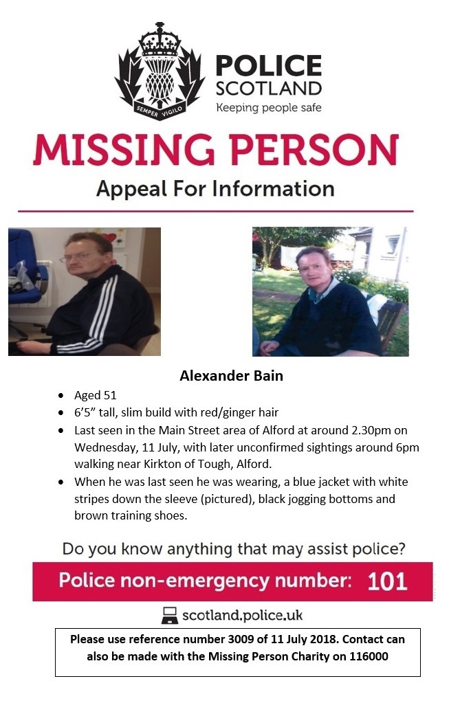Search continues for vulnerable missing Alford man as police dogs