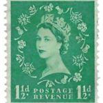 Downloadable Custom Stamp Album Page-The Queen Elizabeth II 1952-1959 Series