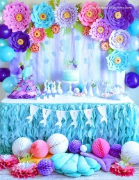 mermaid party decoration | Decoration For Home