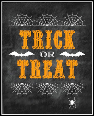 135+ FREE Halloween Party Printables (Decor  Treats) - Press Print
