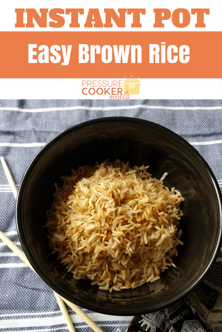 How To Cook Brown Basmati Rice In Instant Pot Instant Pot Brown Rice