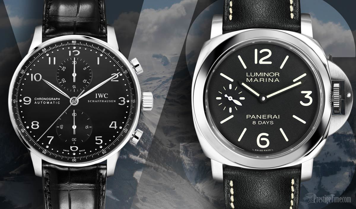 Iwc Portuguese Vs Panerai Luminor Which Watch Is Better