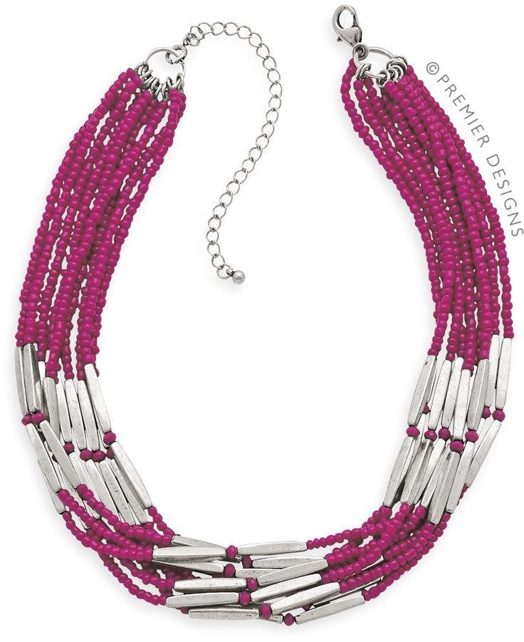 Berry Bright Premier Designs Necklace