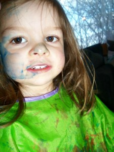 painted face, paint on face, children,painting, arts and crafts