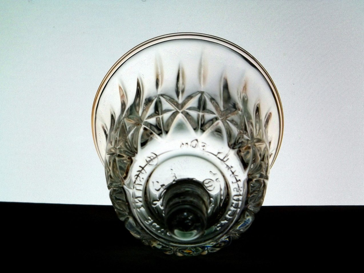 Home Interiors Peg Votive Candle Holder Clear Valencia 1146bd