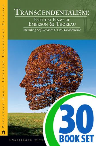 Transcendentalism Essential Essays of Emerson and Thoreau - 30