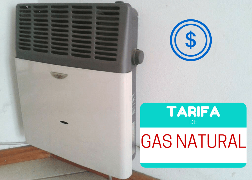 ¿Cuánto vas a pagar por el gas natural en 2015?