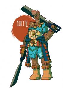Smuggler Queen Odette