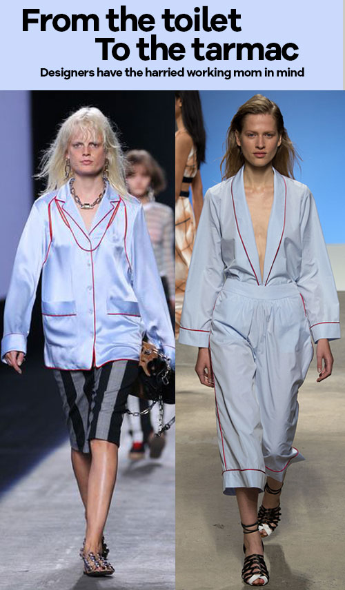 It's Bathroom Fashion Week - from the toilet to the tarmac