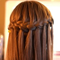 8 Cute Waterfall Twist Tutorial: Long Hairstyles Ideas ...