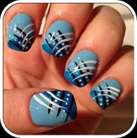 36 Gorgeous Blue Nail Designs For Girls | Nail Design Ideaz