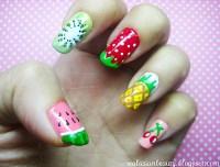 16 Fruit Nail Art Designs for Summer - Pretty Designs