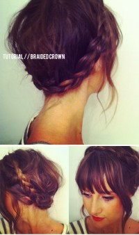 Hair Tutorials: Amazing Crown Braids - Pretty Designs