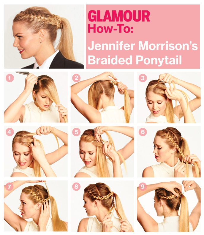 15 Different Ways to Make Cute Ponytails - Pretty Designs