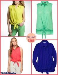 How to Upgrade Your Outfit: Tie a Knot - Pretty Designs