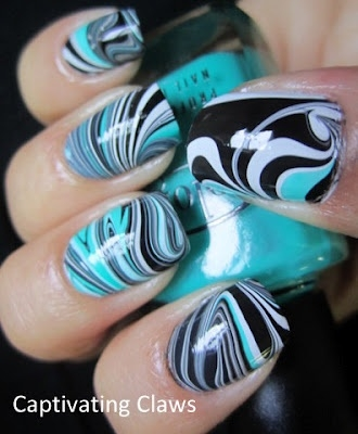 18 Ways To Make Diy Water Marble Nail Looks Pretty Designs