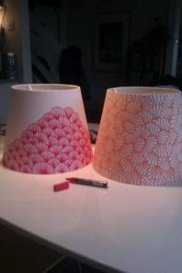 Do It Yourself: Lampshade Tutorials - Pretty Designs