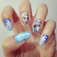 Lovely Cartoon Themed Nails for the Week - Pretty Designs