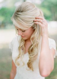16 Overwhelming Half Up Half Down Wedding Hairstyles ...